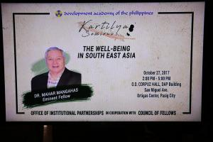 KARTILYA SESSION ON WELL-BEING IN SOUTH EAST ASIA  (OCTOBER 27, 2017)