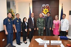 MOA SIGNING FOR ISO 9001:2015 CERTIFICATION FOR THE PHILIPPINE NATIONAL POLICE (OCTOBER 24, 2018)