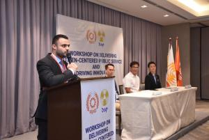 WORKSHOP ON DELIVERING CITIZEN-CENTERED PUBLIC SERVICE AND DRIVING INNOVATION (OCTOBER 11, 2019)